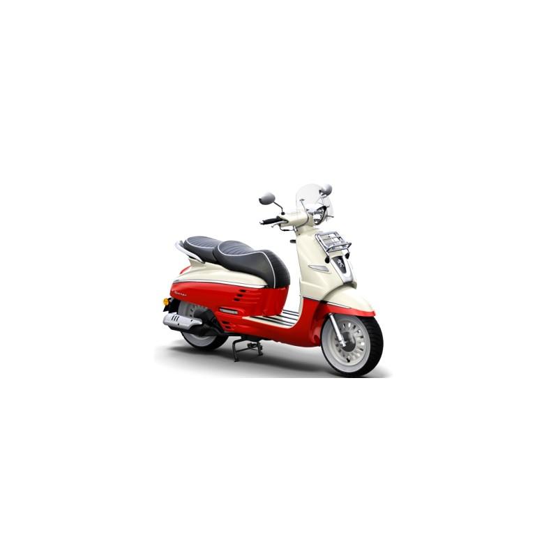 Scooter django evasion 125cc casque offert paris scooter for Garage scooter peugeot paris
