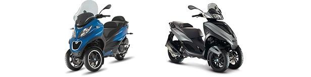 Scooters Piaggio
